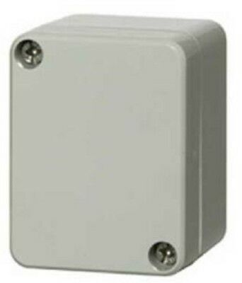 Fibox POLYCARBONATE ENCLOSURE Surface Mount, Grey- 65x50x45mm Or 82x80x65mm