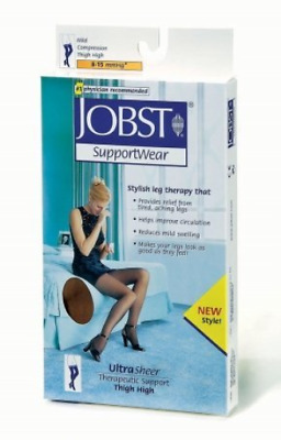 Jobst Ultrasheer Supportwear 8-15 mmHg Thigh High Mild Compression Stockings