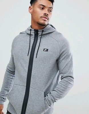 NEW MEN'S NIKE Sportswear Modern Full Zip Hoodie (832166 091