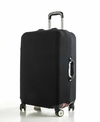 "Anti Scratches Elastic Luggage Protector Suitcase Cover 20"" 24 28 inch Black"