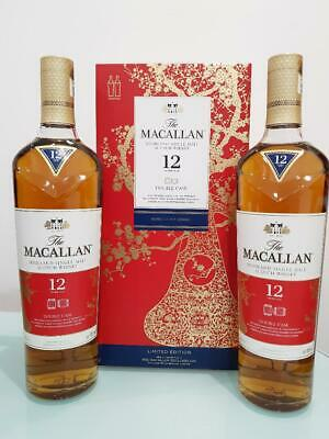 The Macallan 12 Year Old Double Cask Limited Edition (2019) 700ml TWIN PACK @...