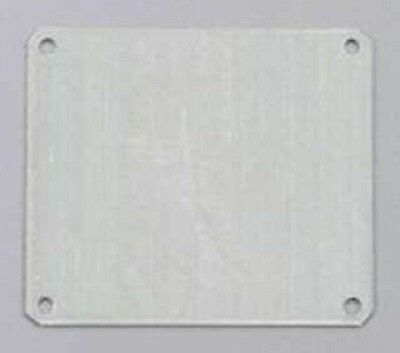 Fibox MOUNTING PLATE FOR ENCLOSURE Galvanised- 111x134mm, 111x174mm Or 221x274mm