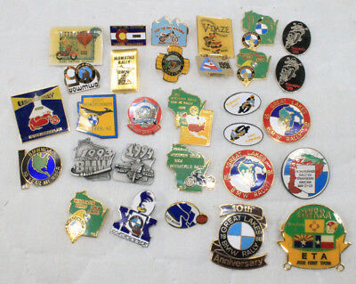 Lot of 30 BMW Motorcycle Pins