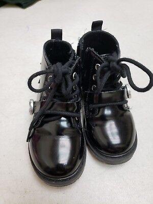 Zara Baby Patent Leather Boots gently used