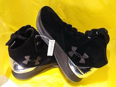 35fe83929781 NEW Under Armour 1296617-001 UA Curry 1 Lux Mid BASKETBALL SHOES MEN S SIZE  9.5