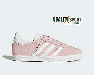 official photos 89b5b a9ded Adidas Gazelle Rosa Scarpe Donna Shoes Sportive Sneakers BY9544 2019