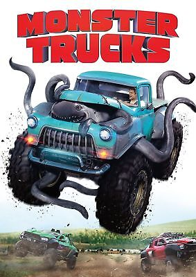 Monster Trucks (DVD, 2017)