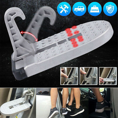 Newly Aluminu Car Doorstep Roof Ladder Foot Stand Door Latch Step Rooftop Pedal