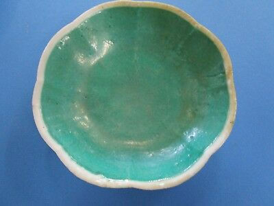 "Old Vintage Chinese Glazed Ceramic Bowl ""Early Export Ware"""