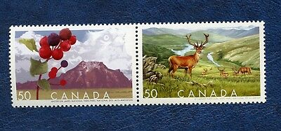 CANADA SC# 2106a BIOSPHERE RESERVES SE-TENANT PAIR MNH VF STAMPS