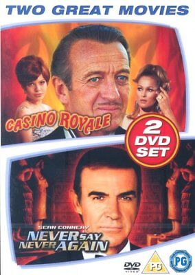 Casino Royale/Never Say Never Again (DVD) (New & Sealed)