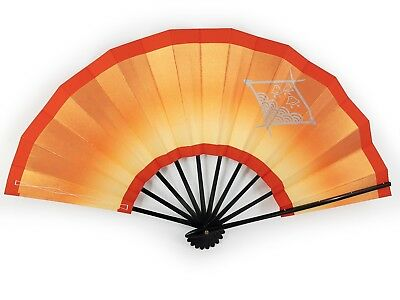 Vintage Japanese Geisha Odori 'Maiogi' Folding Dance Fan Original Box: Jan 19-C