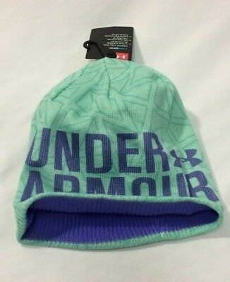 Brand New Very Warm Under Armour Youth Girls Beanie Hat