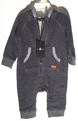 7 For All Mankind, Age 3 - 6 Months Boys Coverall !