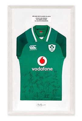 The Official LauraLynn Joe Schmidt Rugby Jersey Certificate