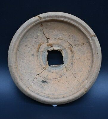 Ancient Greek Hellenistic period clay dish C. 4th - 1st century BC