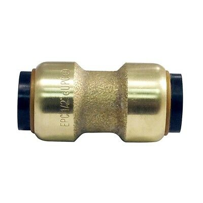 """Bag of 6 Tectite 1/2"""" Push Coupling With Stop Plumbing Fitting CXC 1/2"""""""