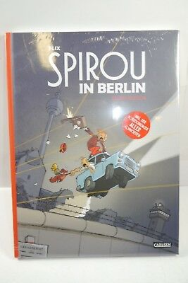 Spirou en Berlin Deluxe-Version Carlsen Couverture Rigide Neuf (MF4)
