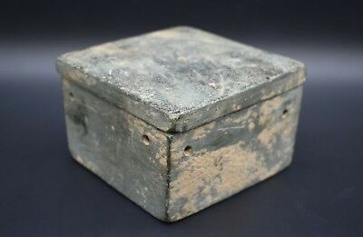 Middle Eastern stone pot with divisions carved from one piece C. 1st Mil BC