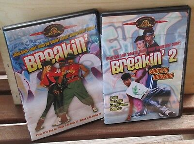 Breakin / Breakin 2 electric boogaloo  MGM 2 DVD set ** No Scratches **