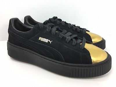 Details about Puma Suede Platform Women's Sneakers Shoes 362222 01 Star White Gold Size 8