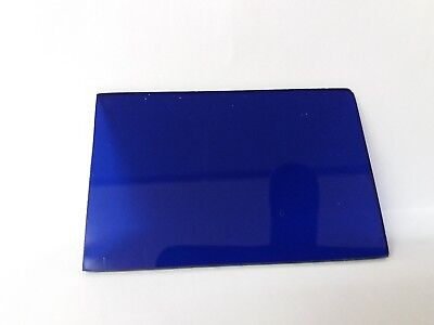 Cobalt Blue Glass For Flame Testing / Viewing Light Ect