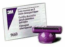 3M Single-use Pivoting Blade Assembly for 9661 Clipper Purple 5/pk 9660