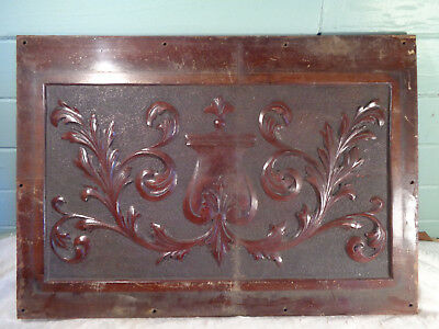 Antique Fancy Wood Piano ? Furniture ? Panel Barn Find Salvage Architectural