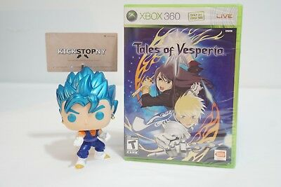 Tales of Vesperia Microsoft Xbox 360 New Factory Sealed