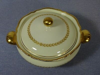 Castleton Laurel, Round Covered Vegetable Bowl, Very Good  Condition
