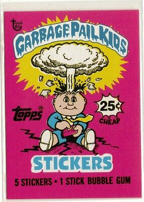 GARBAGE PAIL KIDS 2018 Topps 80th Anniversary WRAPPER ART #23 PR: 969 (RD1 - A)