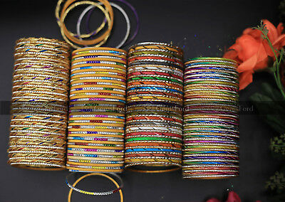 Girls Kids Indian Pakistani Designer Bangle Churiyan Chura Choora 50 Bangles Set