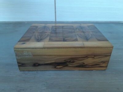 Antique Jewelry vintage box Premium Quality palestine Handmade olive Tree Wood