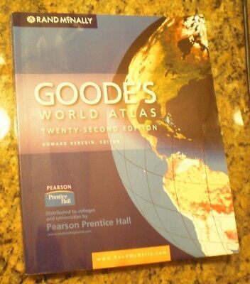 Goode's World Atlas by Rand McNally Staff and Veregin (2010,...
