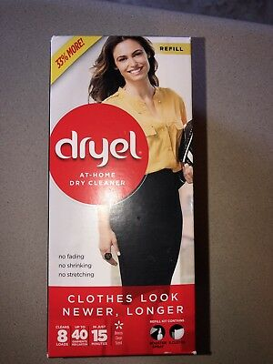 * Dryel at-Home Dry Cleaner Refill Kit - 8 Loads, Up to 40 Garments