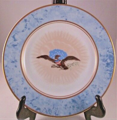 Woodmere Castle China White House Presidential Dessert Plate ANDREW JACKSON #7