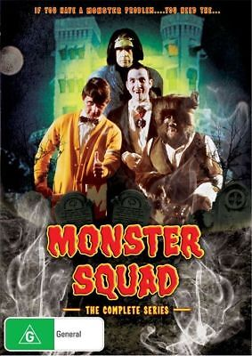 Monster Squad The Complete Series 2-Disc Set Brand New Sealed Region 4