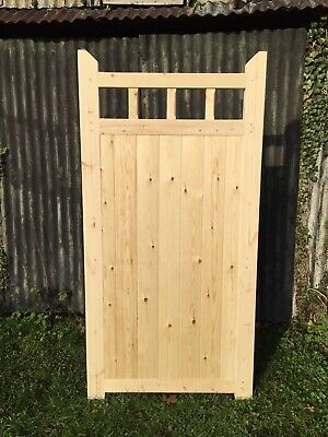 Wooden Side Gate For Sale 6' H x 3' W!Bespoke Gates Cottage Style With Spindles!