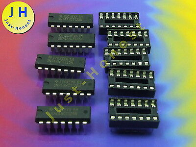10x 74LCX125M IC digital Puffer Kanäle 4 Eingänge 8 SMD SO14 Serie LCX