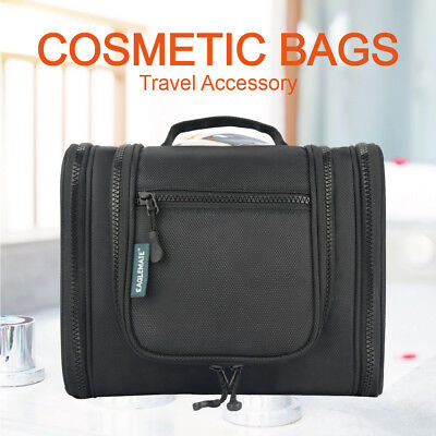 Eaglemate New Travel Cosmetic Makeup Bag Toiletry Case Hanging Storage Large Bag