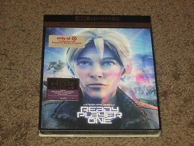 Ready Player One 4K UHD/Blu-Ray/Digital HD Target Exclusive Lenticular slipcover