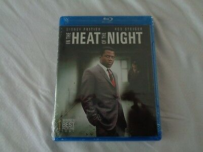 In The Heat of the Night 1967 Best Picture Sidney Poitier Steiger NEW Blu Ray