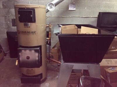 Amaize-ing Heat Solid Fuel FIred Boiler Assembly 180,000 BTU Hot Water Corn Wood