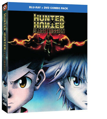 Hunter X Hunter The Last Mission Blu-ray/DVD *pre-order*
