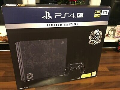 LIMITED EDITION Kingdom Hearts 3 III PS4 PRO 1TB (PAL) CONSOLE NO GAME BRAND NEW