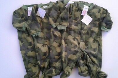 Bundle of baby boys clothes fleece baby grows x 4  size 0-3 months BNWT