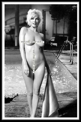 Marilyn Monroe, Early Stills, Cotton Canvas Image. Limited Edition (12-A5)