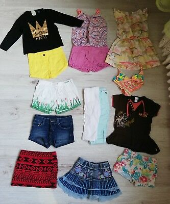 8eb531a14aa Lot 14 Vetements Fille 3 Ans Été short jupe maillot de bain tshirt
