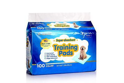 Dog Training Pads 100 Potty All Absorb Puppy Pet Pee Pad Disposable 100 pcs