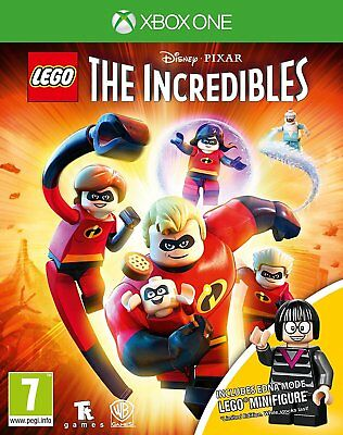 Lego: The Incredibles Mini Figure Edition for Xbox One XB1 - UK - Grade A+